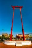 The giant swing, Sao Ching Cha, in Bangkok Stock Photography