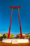 The giant swing, Sao Ching Cha, in Bangkok Stock Images