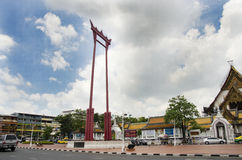 Giant Swing or Sao Chingcha is a religious structure in Phra Nakhon Stock Photography