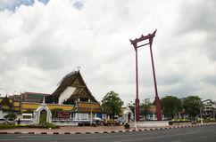 Giant Swing or Sao Chingcha is a religious structure in Phra Nakhon Royalty Free Stock Image
