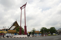 Giant Swing or Sao Chingcha is a religious structure in Phra Nakhon Stock Images