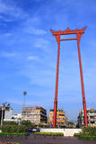 Giant swing in thailand. Giant swing in evening at bangkok thailand Stock Photography