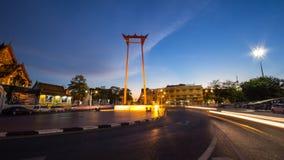 Giant Swing Thailand stock photo