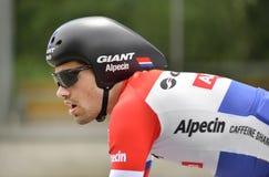 Dumoulin Tom. Giant Team  at Tour de Suisse 2015. Royalty Free Stock Photos