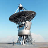 Giant telescope Royalty Free Stock Images