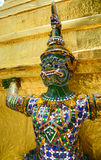 Giant of temple of the Emerald Buddha Royalty Free Stock Photo