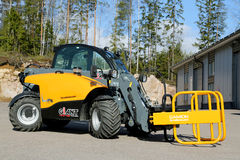 Giant 4548 Tendo Telehandler with Bale Clamps Stock Image