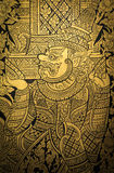 Giant, Thai pattern art. Stock Photography