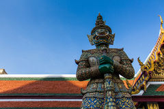 Giant. Thai giant statue in the temple Stock Photography