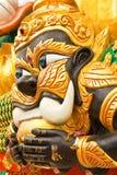 Giant in Thai style art Royalty Free Stock Photo