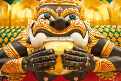 Giant in Thai style art Stock Photo