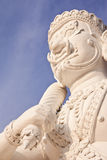 Giant in Thai style molding art Stock Images