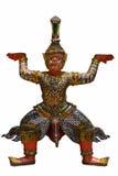 Giant thai style sculpture Royalty Free Stock Photo