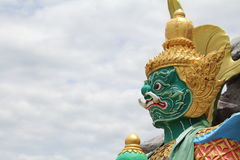 The Giant in Thailand. He is so huge. He is so strong Royalty Free Stock Image