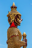 Giant at Thailand temple Royalty Free Stock Photography