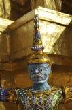 Giant Titan Head Thailand Blue Royalty Free Stock Image