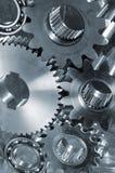Giant titanium mechanism Stock Images