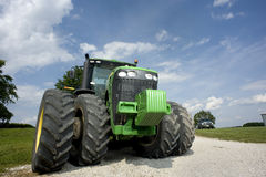 Giant Tractor Stock Photo