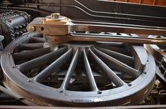 Giant train wheel Stock Photography