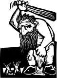 Giant Troll vector illustration