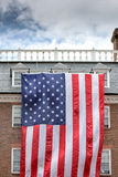 Giant Usa American flag stars and stripes background Royalty Free Stock Image