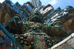 Giant in wat arun Stock Photography