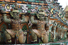 Giant in Wat Arun Stock Images
