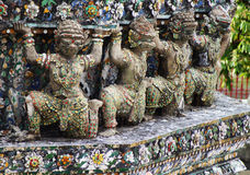 Giant in Wat Arun Royalty Free Stock Photos