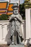 Giant Wat Pho Bangkok Thailand. Giant is in Wat Pho that is a sculpture at the entrance to the temple or the tetrahedron. In the literature of Ramayana Stock Images