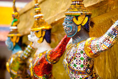 Giant at Wat Phra Kaew Stock Image