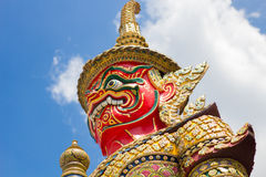 Giant. At Wat Phra Kaew Royalty Free Stock Image