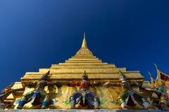 Giant at Wat Phra Kaew, Bangkok. Stock Photo