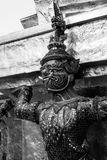 Giant of Wat Phra Kaew or Grand Palace, Bangkok, Thailand Royalty Free Stock Photo