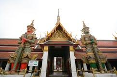 Giant at Wat prakaew Stock Image