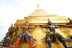 Giant at Wat prakaew Royalty Free Stock Photo