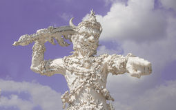 Giant Wat Rong Khun Royalty Free Stock Image