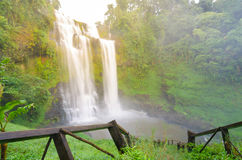 Giant waterfall, Paksa Stock Images