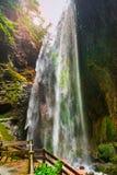 Giant Waterfalls in Longshuixia Fissure, Wulong, China Royalty Free Stock Photography
