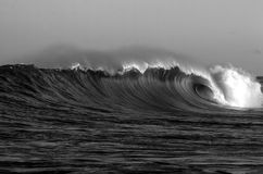 Giant wave Royalty Free Stock Photos