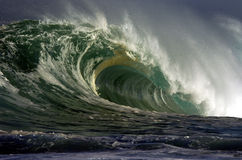 Giant wave Royalty Free Stock Image
