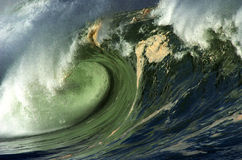 Giant wave Stock Image