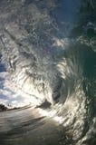 Giant wave stock image