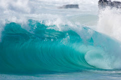 Giant wave stock photos