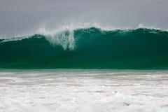 Giant wave hits the shore. Giant wave hits the coast of Boa Vista, Cape Verdi Stock Images