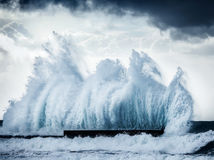 Giant Waves Stock Photography