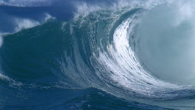 Giant waves stock video footage