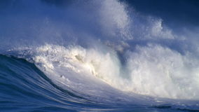Giant waves stock footage