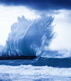 Giant waves Royalty Free Stock Image