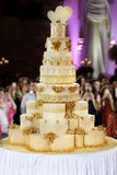 Giant wedding cake Royalty Free Stock Images