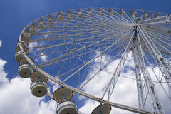 Giant Wheel 1. A giant whell attraction in a park in Paris Stock Photography